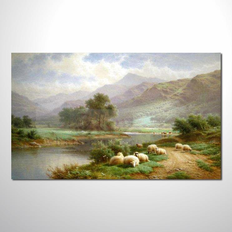 油画 欧式风景38 装饰品 山水画 艺术品 插画 无框画