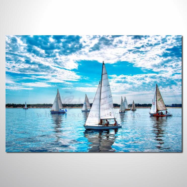 油画 希腊船景29 风景 装饰品 山水画 艺术品 插画 无