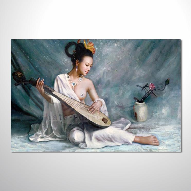 油画 人体艺术37 唯美 高品味 装饰品 艺术品 插画 无