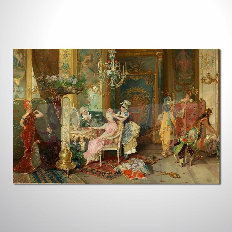 油画 欧式宫廷136 高档宫廷 高品味 装饰品 艺术品 插画 无框画 精品
