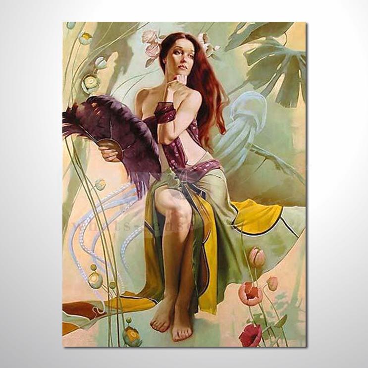 油画 人体艺术89 唯美 高品味 装饰品 艺术品 插画 无