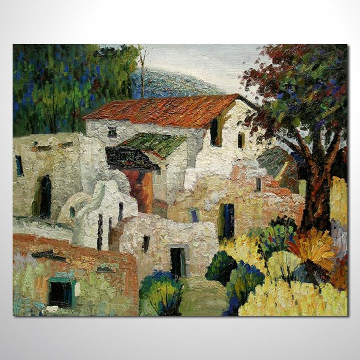 油画 装饰风景33 风景油画 装饰品 山水画 艺术品 插画 无框画 浮雕